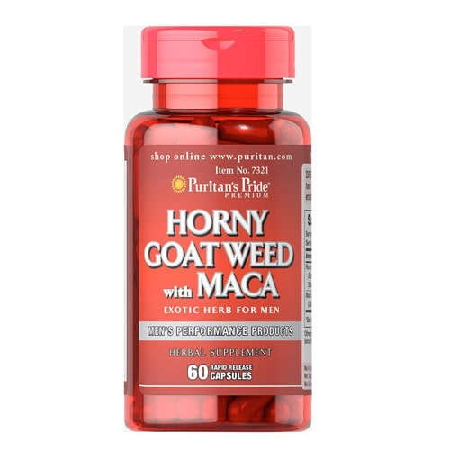 Puritan's Pride Horny Goat Weed With Maca