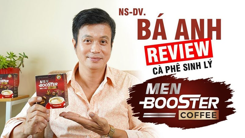 Bá Anh review Men Booster Coffee